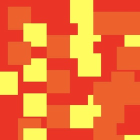 Red Orange and Yellow